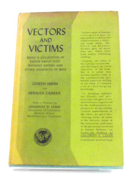 Vectors and Victims By Joseph Hirsh and Herman Zaiman