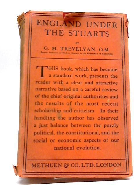England Under the Stuarts Vol V By G.M. Trevelyan