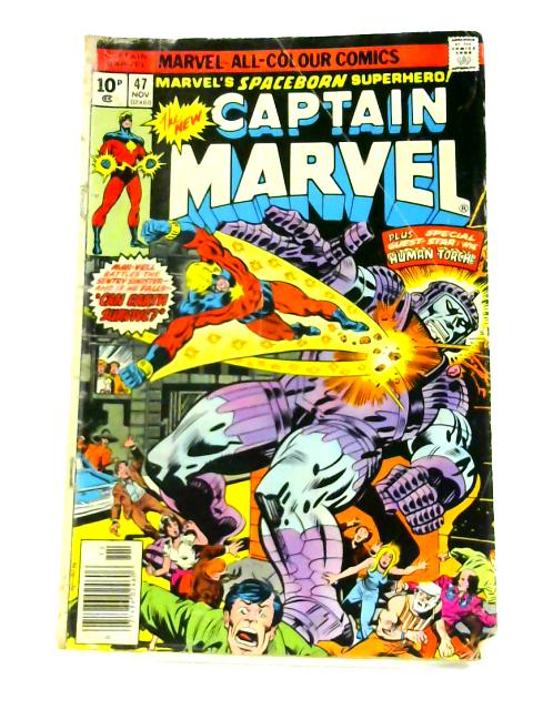 Captain Marvel: No. 47 by Gerry Conway