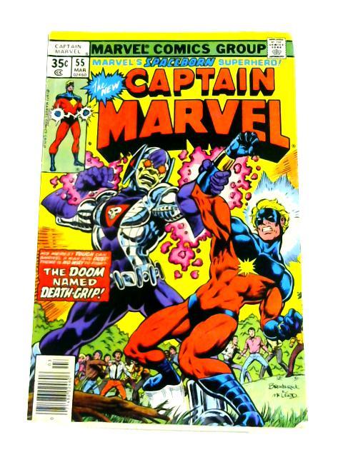 Captain Marvel: Vol 1 No. 55 by Scott Edelman