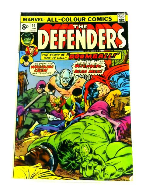 The Defenders: No. 19 by Chris Claremont
