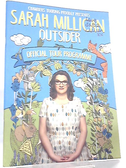 Outsider - Official Tour Programme by Sarah Millican