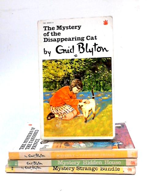 Collection of Four Enid Blyton Mystery Titles by Enid Blyton