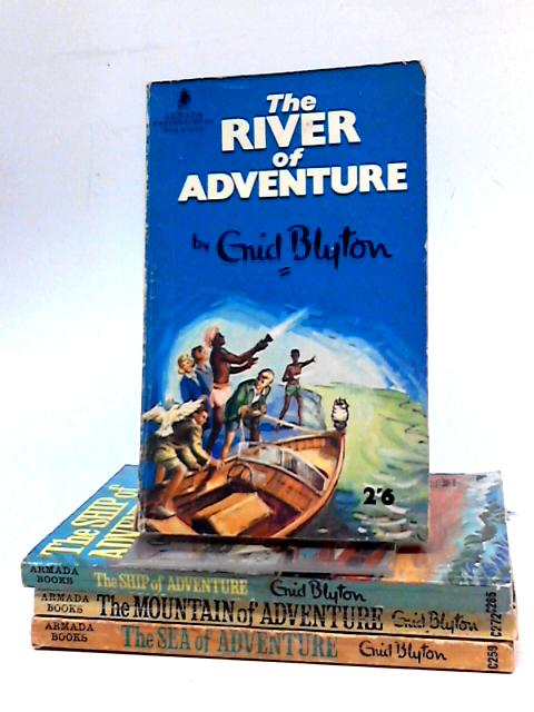 Collection of Four Enid Blyton Adventure Titles by Enid Blyton