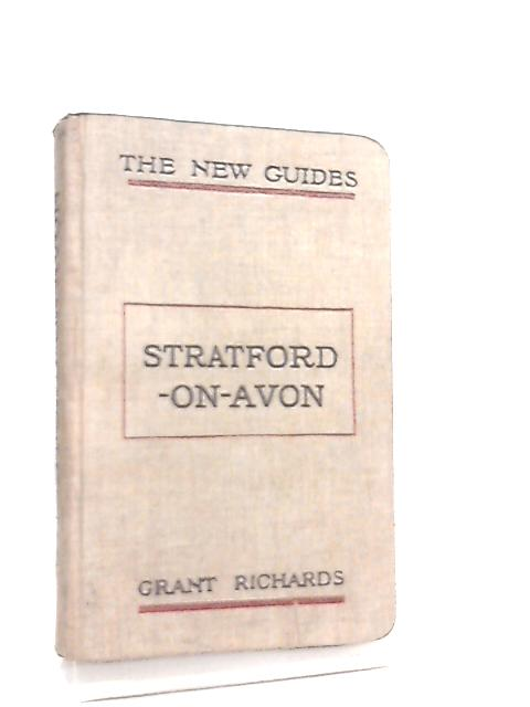 Stratford on Avon - The New Guides By Harold Child