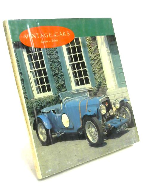 Vintage Cars in Colour by Barron & Tubbs