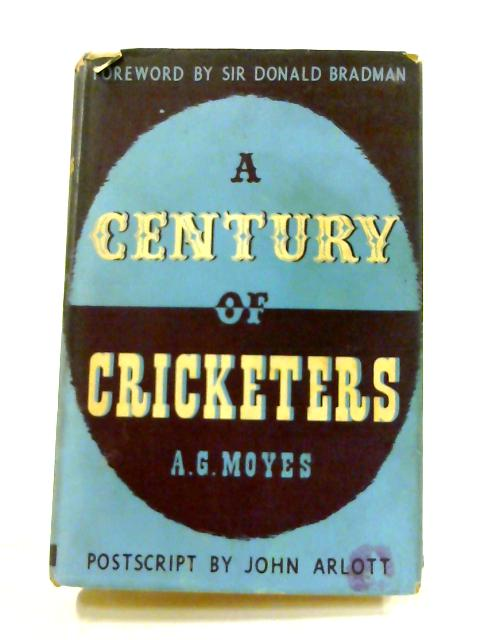 A Century of Cricketers by Alban George Moyes