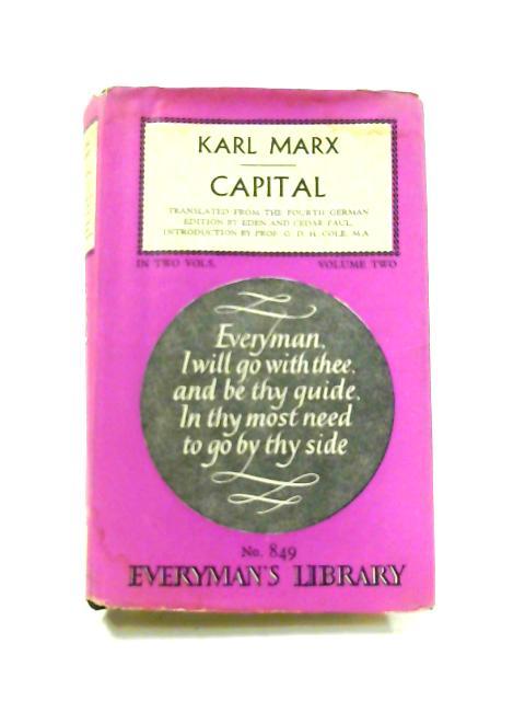 Capital: Vol. II by Karl Marx