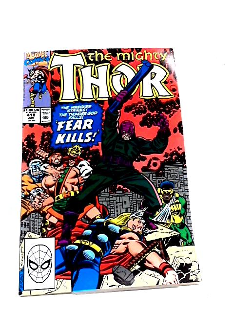 The Mighty Thor No. 418 By Marvel