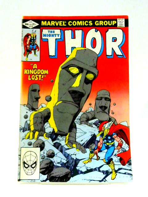 The Mighty Thor: No. 318 By Doeg Moench