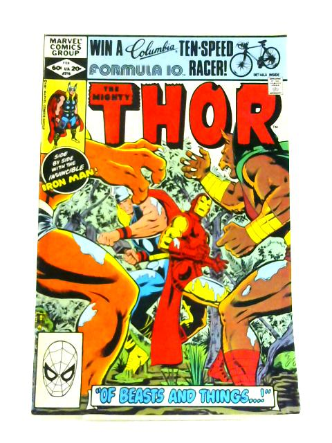 The Mighty Thor: No. 316 By Doug Moench