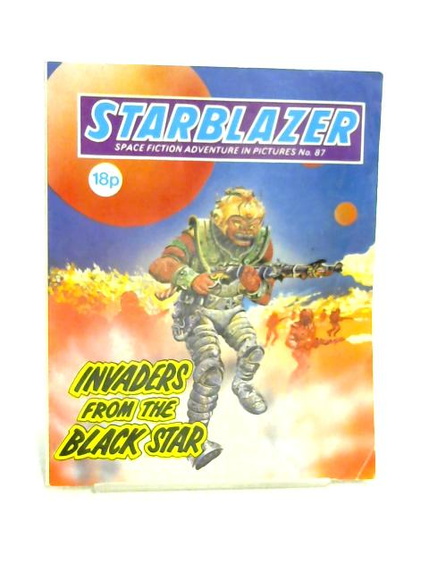 Starblazer No. 87: Invaders From The Black Star By Unknown