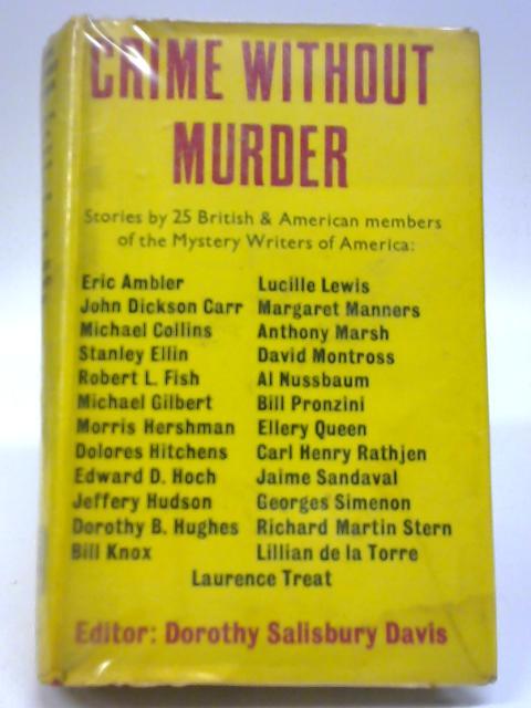 Crime Without Murder By Editor Dorothy Salisbury Davis
