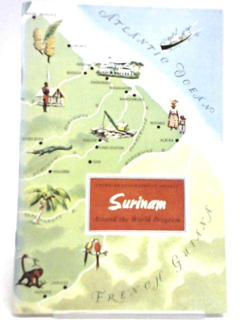 Surinam By American Geographical Society