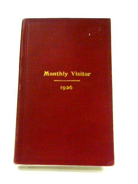 Ninety-Fourth Annual Report of The Scottish Monthly Visitor Tract Society 1926 By Anon