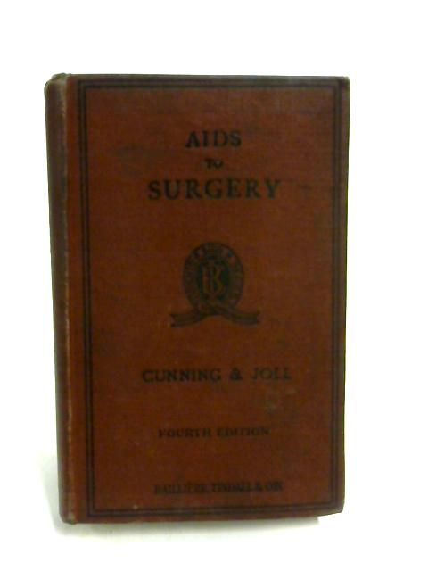Aids to Surgery By Cunning & Joll