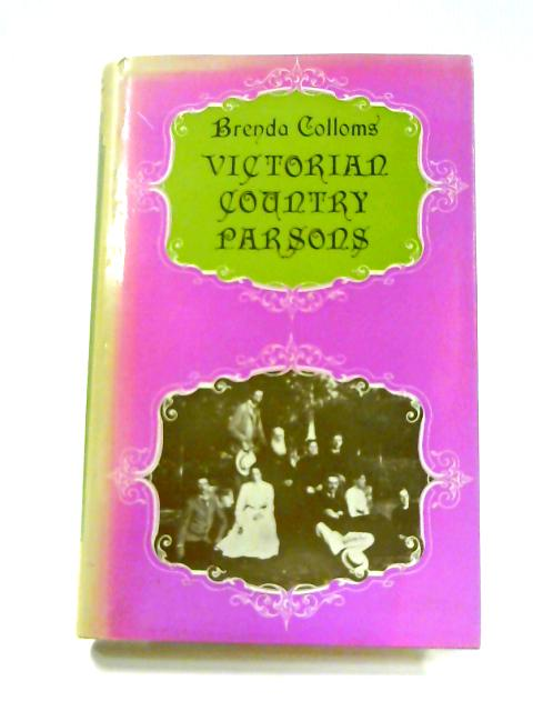 Victorian Country Parsons By Brenda Colloms