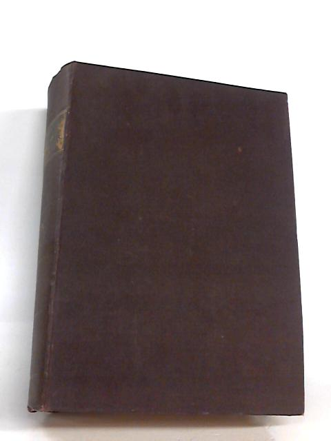 Journal Of The Society Of Chemical Industry Vol. Xx Ad 1901 By No Author Credited