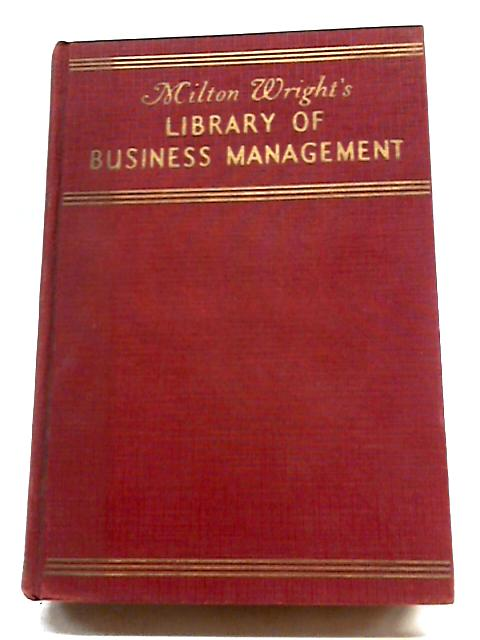Milton Wright's Library of Business Management; Cedits and Collections By Unstated