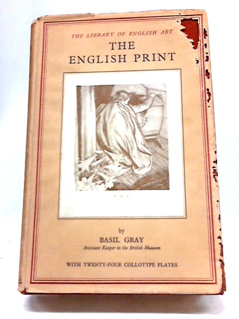 The English Print By Basil Gray