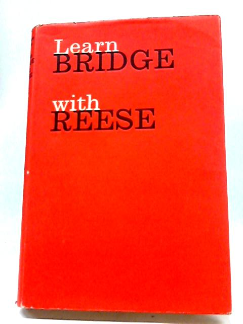 Learn Bridge with Reese By Terence Reese