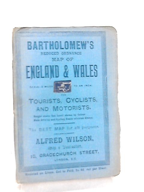 Bartholomew's Reduced Ordnance Map of England & Wales Sheet 20 Suffolk by Anon