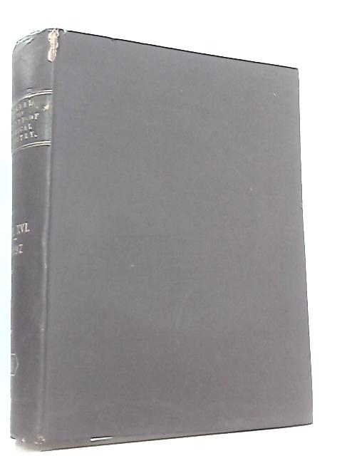 Journal Of The Society Of Chemical Industry Vol XVI 1897 by Anon