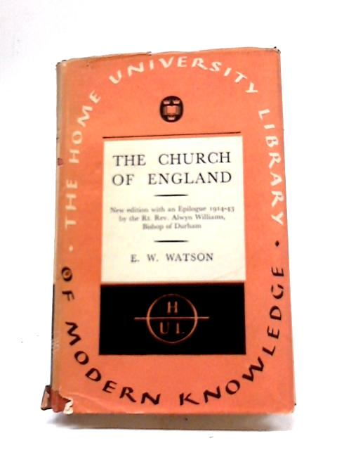 The Church of England by Watson