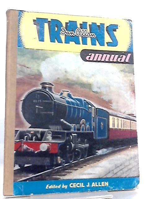 Trains Annual 1952 By Cecil J. Allen