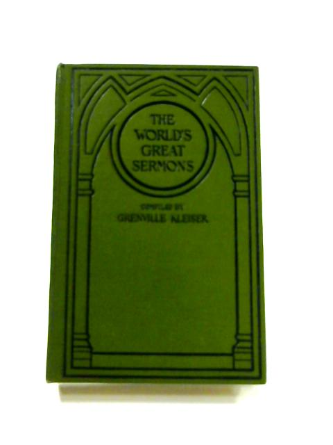 The World's Great Sermons Vol. VIII By Grenville Kleiser