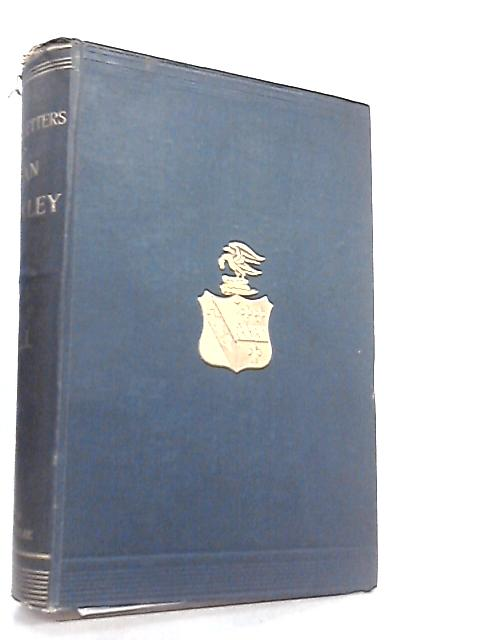 The Life and Correspondence of Arthur Penrhyn Stanley Vol. I by Rowland E. Prothero