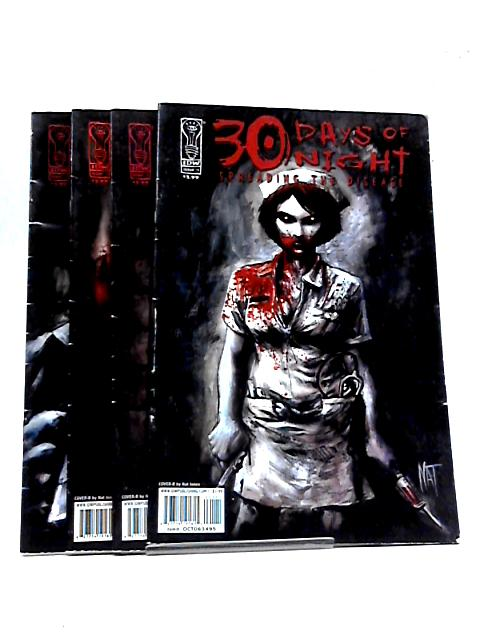 30 days of night spreading the disease #1 - 4 (Cover B) By Dan Wickline