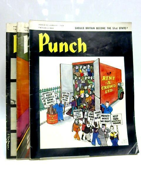 Punch 8, 22, 29, Jan 1969 (3 x Issues) By Various