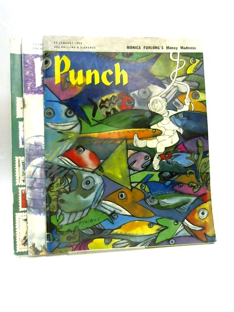 Punch 12, 19, 26 January 1966 (3 x Issues) By Various