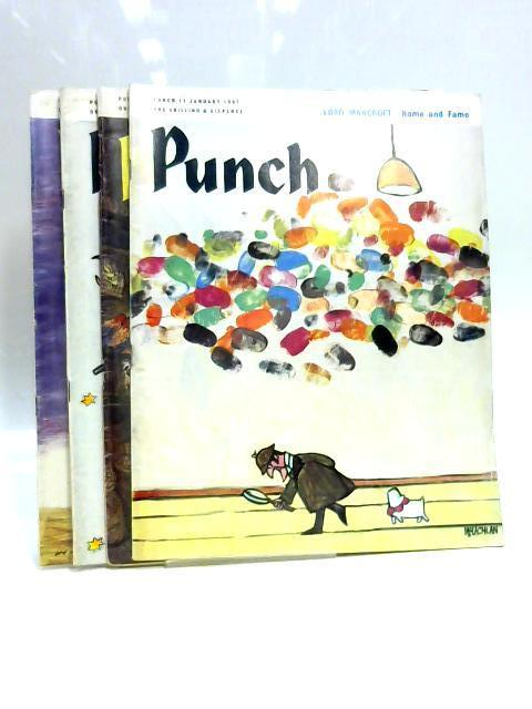 Punch 4, 11, 18, 25 January 1967 (4 x Issues) By Various
