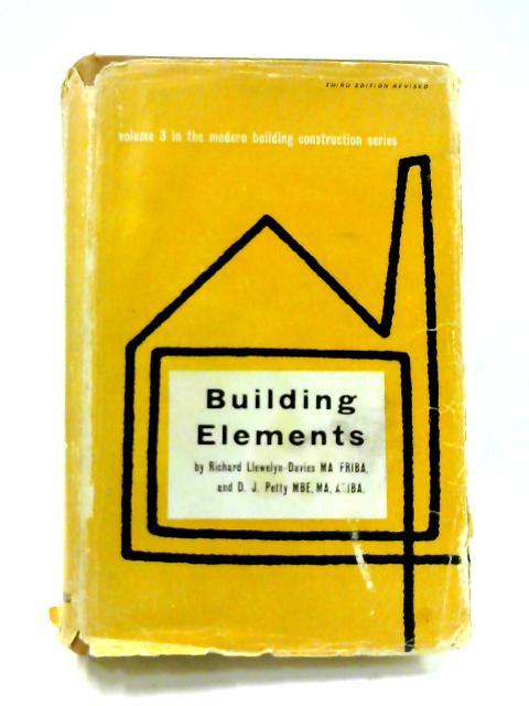 Building Elements: Vol. 3 by Richard Llewelyn-Davies