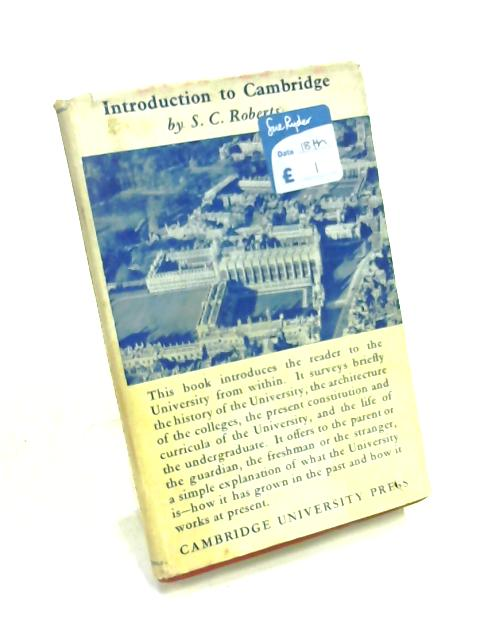 Introduction to Cambridge by S. C. Roberts