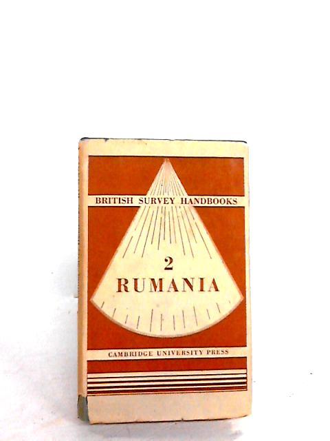 British survey handbooks 2 rumania By Unknown