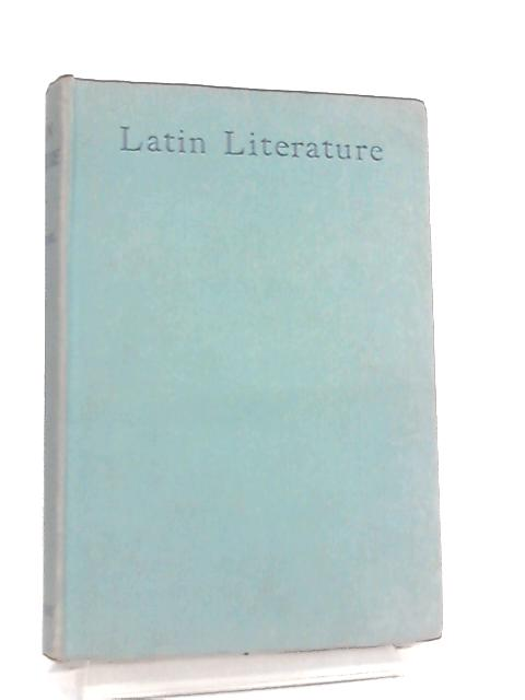 Latin Literature By J. W. Mackail