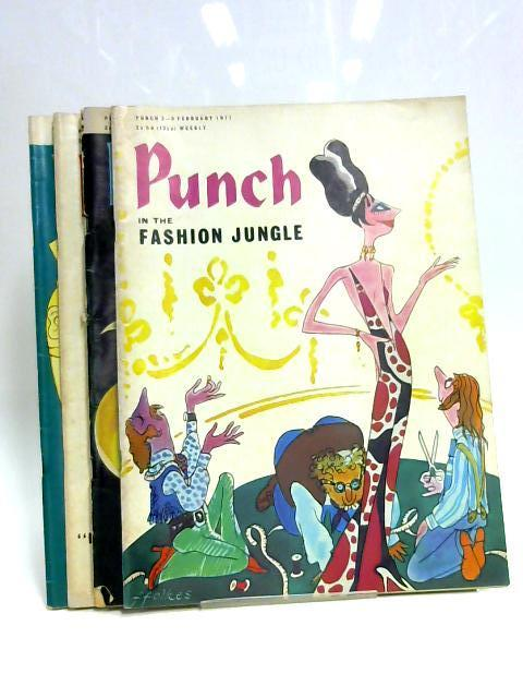 Punch February 1971 (4 x Issues) By Anon