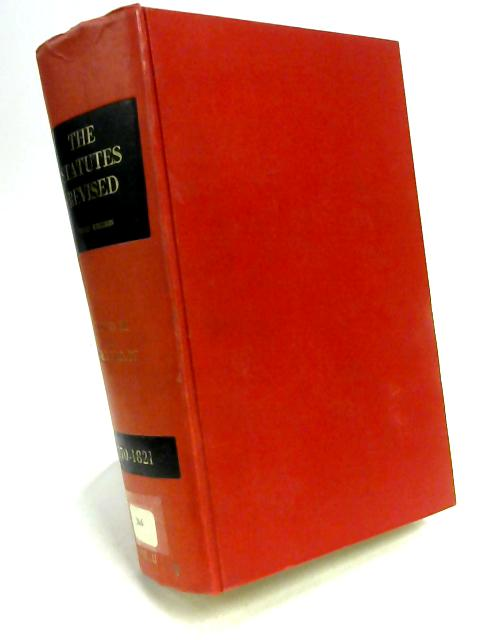 The Statutes Volume II 1770 - 1821 By Anon