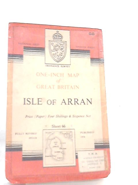 One-Inch Map of Great Britain Sheet 66 Isle of Arran by Anon