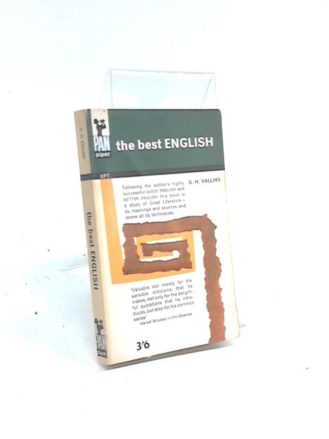 The Best English By G H Vallins
