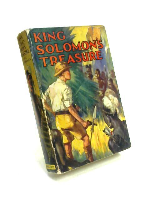 King Solomon's Treasure By John F C Westerham
