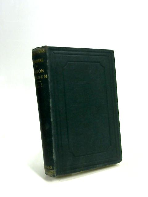 Memoirs of Baron Bunsen By Frances Baroness Bunsen