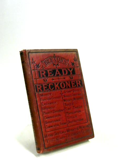 Beeton's Ready Reckoner a business and family Arithmetic by Mrs. Beeton