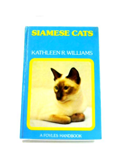 Siamese Cats By Kathleen R. Williams