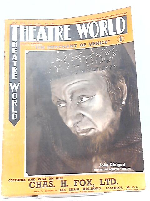 Theatre World Vol XXIX No 160 May 1938 with Special Supplement by Various