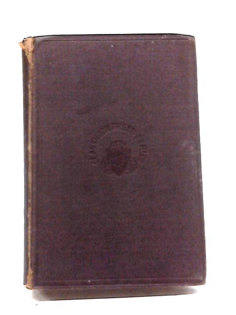The English Poems of John Milton Vol. I By RC Browne