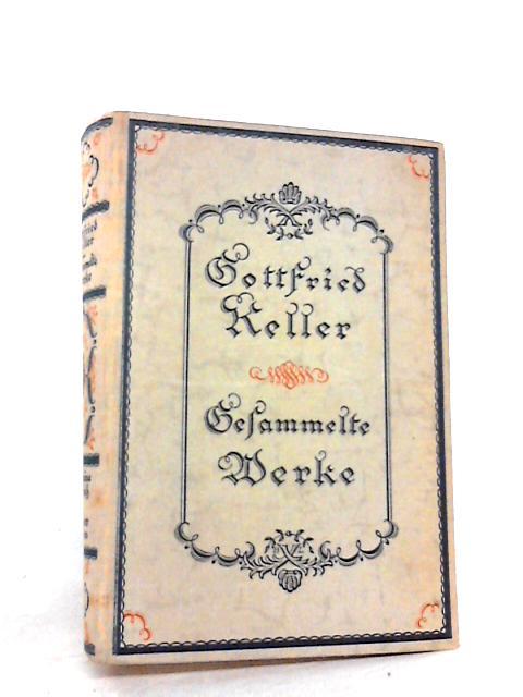 Gefammelte Werke Band 2 By Gottfried Keller